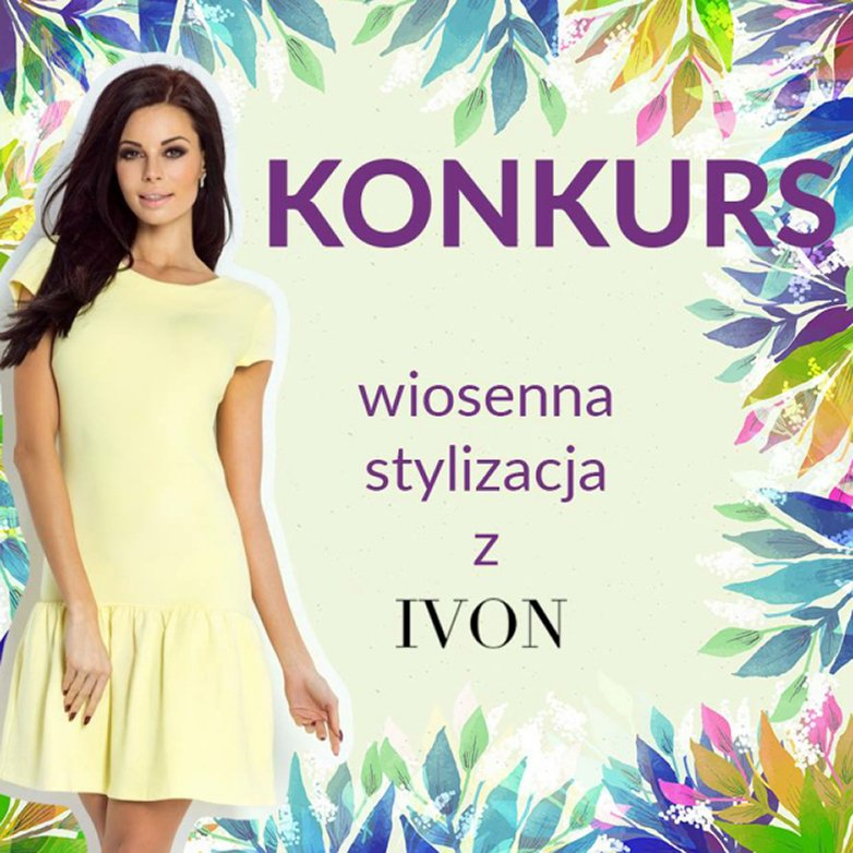 Banner Ivon – Wiosenna stylizacja