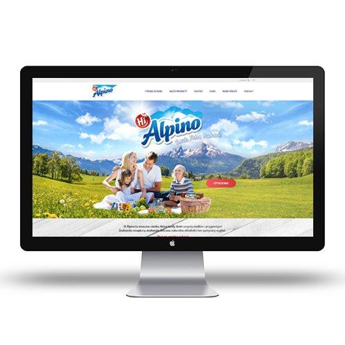 Banner HiAlpino – Strona www
