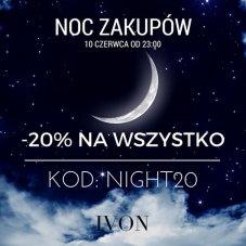 Banner Ivon – Noc zakupów