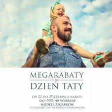 Banner W. Śliwińscy – Akcja Megarabaty naDzień Taty