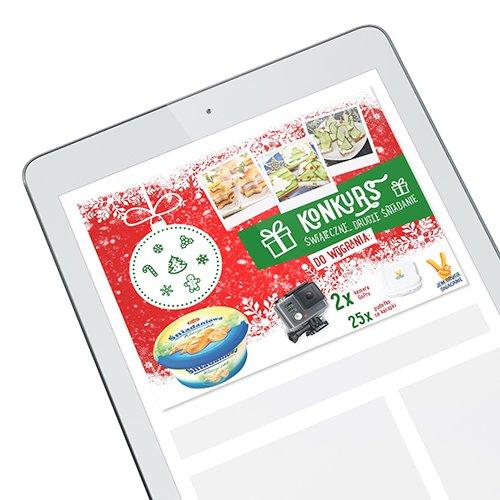 Banner Jem Drugie Śniadanie – Konkurs Świąteczne Śniadanie