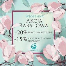Banner W. Śliwińscy – Wiosenna akcja rabatowa